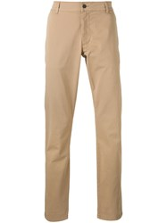 Hope Nash Trousers Men Cotton Spandex Elastane 50 Nude Neutrals