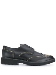 Giuseppe Zanotti Andie Derby Shoes Black
