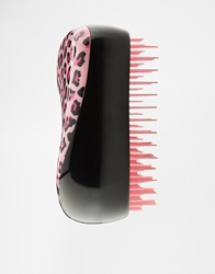 Tangle Teezer Pink Leopard Print Compact Detangling Brush Pinkleopard