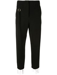 Song For The Mute Slim Fit Tailored Trousers Black
