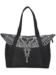 Marcelo Burlon County Of Milan Maika Shopping Tote Black