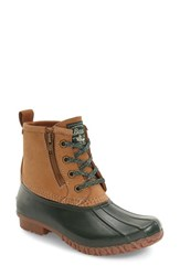 G.H. Bass Women's And Co. Danielle Waterproof Duck Boot Tan Hunger Leather