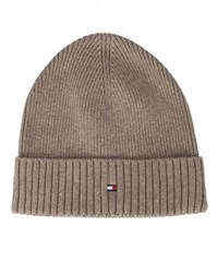 Tommy Hilfiger Beige Cotton And Cashmere Hat