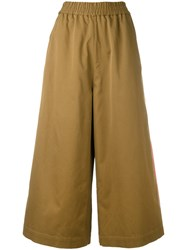Ports 1961 Wide Leg Trousers Brown