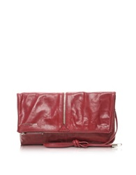 Francesco Biasia Harlem Foldable Leather Crossbody Bag Red