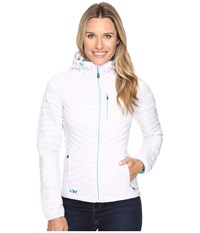 Outdoor Research Verismo Hooded Jacket White Women's Coat