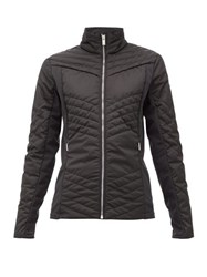 Fusalp Vici Quilted Shell Ski Jacket Black