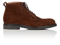 Heschung Pin Suede Boots Rust