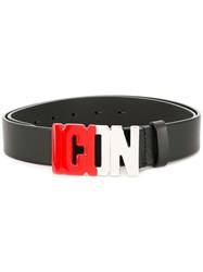 Dsquared2 Icon Belt Black