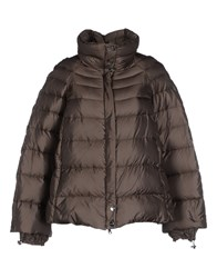Salco Coats And Jackets Down Jackets Women Dark Brown