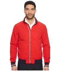 Tommy Jeans Casual Bomber Jacket Racing Red Coat