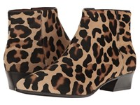 Aquatalia By Marvin K Fire Leopard Haircalf Women's Boots Animal Print