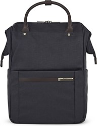 Briggs And Riley Kinzie Street Framed Polyester Backpack Navy
