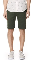 7 For All Mankind Chino Shorts Olive