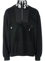 Christopher Shannon Patch Pocket Sweatshirt Black