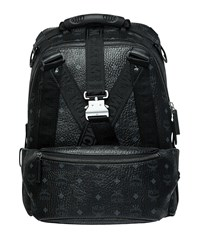 Mcm Jemison Visetos Medium Backpack Black