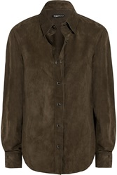 Tom Ford Classic Suede Shirt