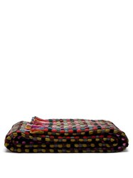 Missoni Home Jocker Woven Wool Blend Throw Black Multi
