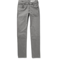 Rag And Bone Two Slim Fit Washed Denim Jeans Gray