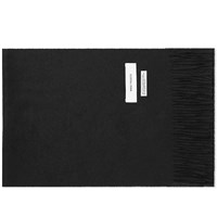 Norse Projects Lambswool Scarf Black