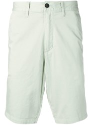Emporio Armani Mid Rise Knee Length Shorts Green