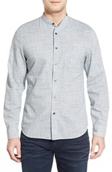 Ag Jeans Men's Ag 'Coast' Trim Fit Stripe Sport Shirt