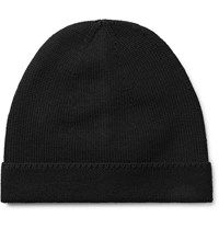 Gucci Webbing Tried Wool Beanie Black