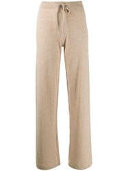 Chinti And Parker Flared Knit Trousers 60
