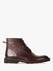 Oliver Sweeney Hareden Leather Military Boots Brown