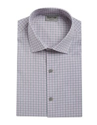 Kenneth Cole Reaction Slim Fit Gingham Dress Shirt Cameo