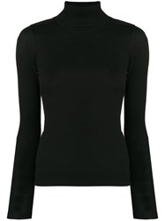 Each X Other Fitted Turtle Neck Jumper Black