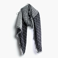 Madewell Illusion Scarf True Black