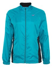 Mizuno Breath Thermo Tracksuit Top Caribbean Sea Blue