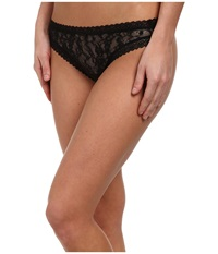 Dkny Intimates Signature Lace Thong 576000 Black Women's Underwear
