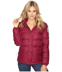 Burton Heritage Puffy Jacket Sangria Women's Coat Red