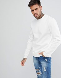 Pull And Bear Pullandbear Sweatshirt In White