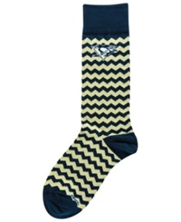For Bare Feet Pittsburgh Penguins Chevron Striped Socks Black Gold