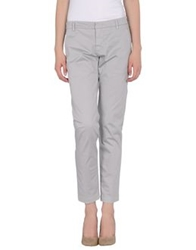 Entre Amis Casual Pants Light Grey