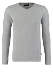 Minimum Reiswood Jumper Light Grey Melange