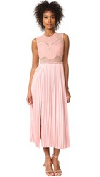 Three Floor Pop Of Peony Lace Dress Peony Pink