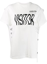 Ambush Cape T Shirt White