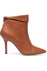 Jerome Dreyfuss Suzanne Leather Ankle Boots Brown