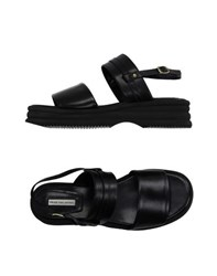 Dries Van Noten Footwear Sandals Women Black