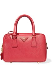 Prada Bauletto Textured Leather Tote