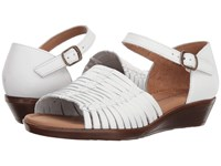 Comfortiva Fayann White Wedge Shoes