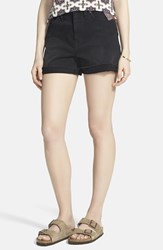 Women's Madewell High Rise Denim Shorts Washed Black