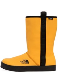 The North Face Base Camp Waterproof Short Rain Boots Yellow