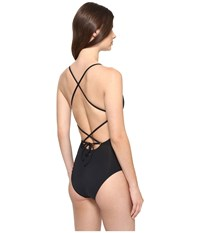 Roxy Strappy Love One Piece Swimsuit Anthracite Women's Swimsuits One Piece Pewter