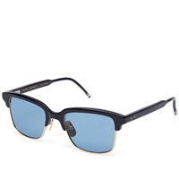 Thom Browne Eyewear Thom Browne Tb 709 Sunglasses Navy And Blue