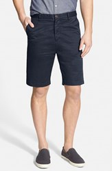 Men's Rodd And Gunn 'Penrose' Flat Front Shorts Navy